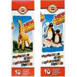 Пластилин Koh-i-Noor 131506 Пингвин, 10 цветов, 200 гр, стек