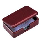 Контейнер для визиток Bestar деревянный, красное дерево (1315WDM)