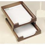 Лоток для бумаг горизонтальный 2 в 1 Bestar 1468XDX, орех