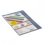 Обложки пластиковые Agent прозрачные А4 бесцветные 200 мкн 25 шт (1510281)