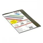 Обложки пластиковые Agent, прозрач, дымчатые, А4, 180 мкн, 25 шт (1510282)
