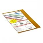 Обложки пластиковые Agent прозрачные А4 желтые 180мкн 25 шт (1510285)