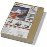 Обложки картонные Agent А4 220 г/м² 100 шт крафтовые (1520381)