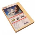Обложки картонные Agent, под кожу, слоновая кость, А4, 230 г/м2, 100 шт (1521166)
