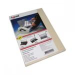 Обложки картонные Agent, под кожу, кремовые, А4, 230 г/м2, 100 шт (1521185)