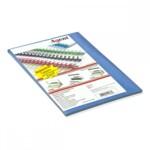 Обложки картонные Agent, под кожу, синие, А4, 230 г/м2, 25 шт (1521187)