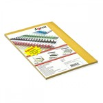 Обложки картонные Agent, под кожу, песочные, А4, 230 г/м2, 25 шт (1521279)