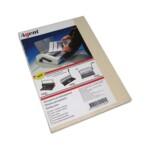 Обложки картонные Agent, под кожу, бежевые, А4, 230 г/м2, 100 шт (1521205)