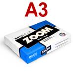 Офисная бумага Zoom Extra А3, 80 г/м2, 500 л