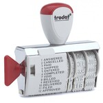 Датер ленточный с 12-ю бухгалтерскими терминами Trodat 1117, 4 мм, рус