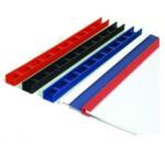 Пластины для переплета Agent Press-Binder, 7,5 мм, бел, 50 шт