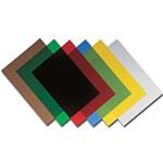 Обложки пластиковые Agent, прозр, ассорти, А4, 180 мк, 100 шт