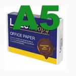 Бумага офисная LazerCopy А5, 80 г/м2, 500 л