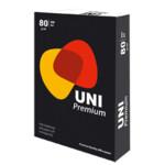 Офисная бумага Uni Premium А4, 80 г/м2, 500 л