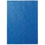 Обложки картонные Agent, под кожу, синие, А4, 230 г/м2, 100 шт (1521173)