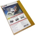 Обложки картонные Agent, глянцевые, золото, А4, 250 г/м2, 100 шт (1523079)
