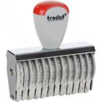 Нумератор ленточный Trodat 15412, 12-ти разрядный, 4 мм