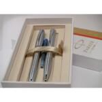 Набор ручек Parker Urban Metro Metallic CT FP BP (перьевая ручка + шариковая ручка)