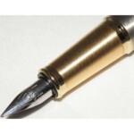 Ручка перьевая Parker IM Brushed Metal GT FP F 20 312T