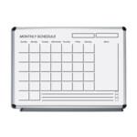 Маркерный месячный организатор ABC Office 60 x 90 см, алюминиевая рама