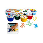 Краски пальчиковые Гамма, 4 цветов, 90 мл