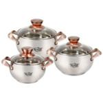 Набор посуды Krauff Copper 26-242-009, 6 предметов