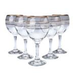Набор бокалов для вина Gurallar Art Craft Misket 31-146-088 165 мл 6 шт