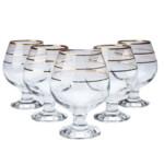Набор бокалов для бренди Gurallar Art Craft Misket 31-146-097 390 мл 6 шт