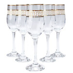 Набор бокалов для шампанского Gurallar Art Craft Versace 31-146-231 195 мл 6 шт