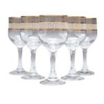 Набор бокалов для вина Gurallar Art Craft Versace 31-146-232 165 мл 6 шт