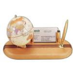 Глобус на деревянной подставке с подсветкой Bestar, светлая вишня, 300 мм