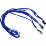 Шнурок для беджей Agent D002, 50 шт, синий (3420373)