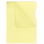 Папка-уголок Donau, А4, желтый (1784095PL-11)