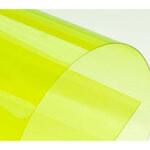 Обложки пластиковые Bindmark Кристал прозрачные, желтые, А4, 180 г/м2, 100 шт