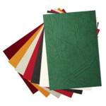 """Обложки картонные Bindmark Кантри """"под кожу"""", зеленые, А4, 230 г/м2, 100 шт"""