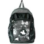 Рюкзак школьный Olli OL-3811-02 Mickey Mouse 48х38х11см полиэстер серый монохром