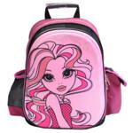 Рюкзак школьный Olli OL-0514-1 Fashion черный/розовый