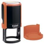 Оснастка для круглой печати Trodat 4642, диам 40 мм, пластик, оранжевый