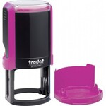 Оснастка для круглой печати Trodat 4642, диам 40 мм, пластик, розовый