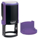 Оснастка для круглой печати Trodat 4642, диам 40 мм, пластик, фиолетовый
