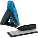 Самонаборный штамп карманный 4-х строчный Trodat Printy 9412, укр, синий