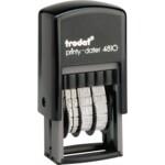 Минидатер Trodat Printy 4810, цифр, 3,8 мм