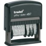 Датер с 12-ю бухгалтерскими терминами Trodat Printy 4817, лат, 3,8 мм