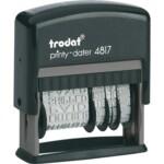 Датер с 12-ю бухгалтерскими терминами Trodat Printy 4817, рус, 3,8 мм