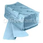 Бумажные полотенца Z-образные Каховинка, 1 слой, 200шт, синие