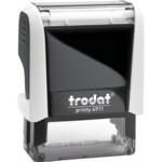 Оснастка для штампа Trodat 4911, 38х14 мм, пластик, белый