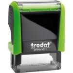 Оснастка для штампа Trodat 4911, 38х14 мм, пластик, зеленый