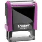 Оснастка для штампа Trodat 4911, 38х14 мм, пластик, розовый