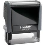 Оснастка для штампа Trodat 4912, 47х18 мм, пластик, серый