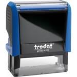 Оснастка для штампа Trodat 4912, 47х18 мм, пластик, синий